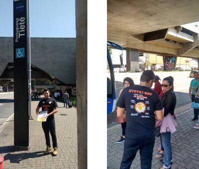IOB segue sua campanha nos metrôs de São Paulo