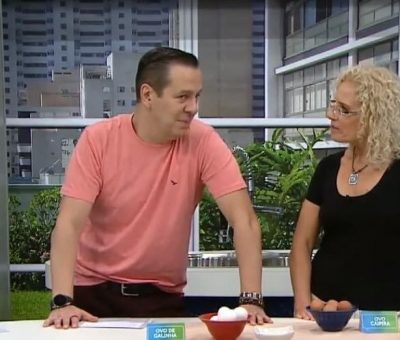 TV Gazeta recebe nutricionista do IOB para bate papo sobre ovos