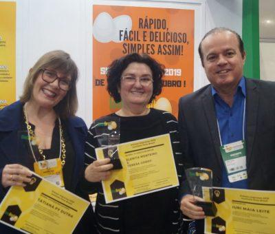 Instituto Ovos Brasil entrega troféus aos ganhadores do Prêmio Imprensa 2019