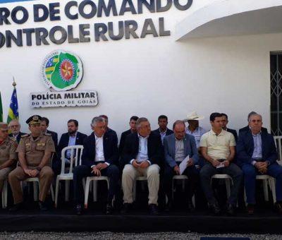 Inaugurada sede do Batalhão Rural que abrigará o Centro de Inteligência para monitorar o campo